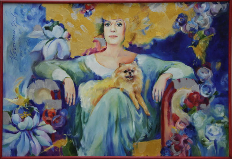 Коровина Мария. Портрет сестры. 2016
