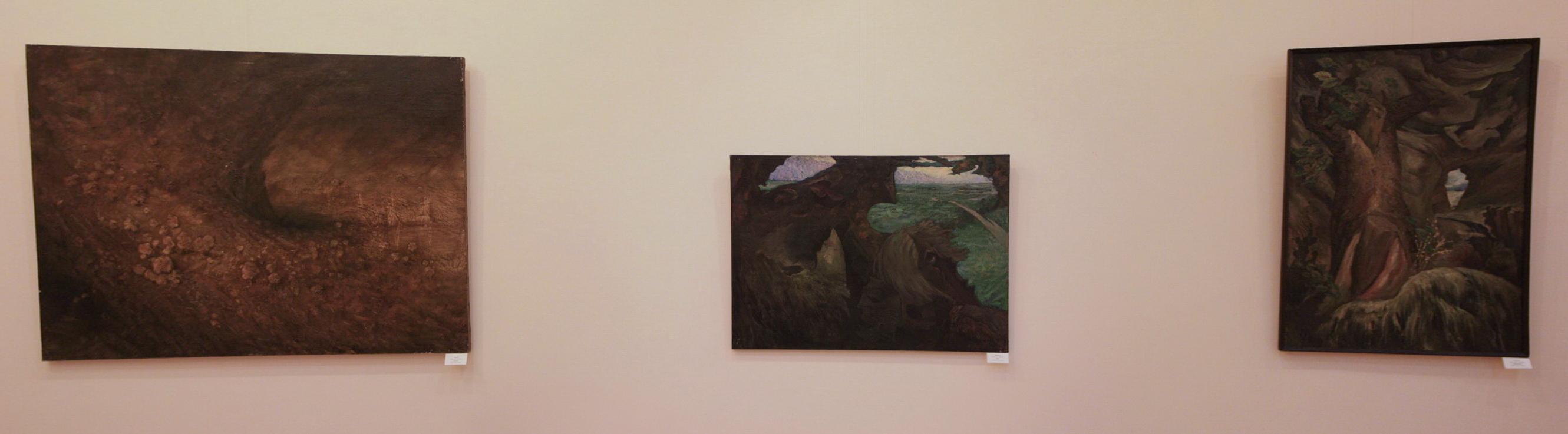 ЛИ А. Экспозиция картин