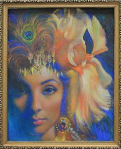Шувалова М. Женщина цветок. 2001