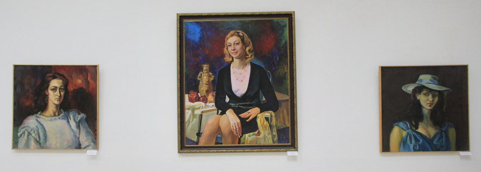 Экспозиция картин Бурмакина В.