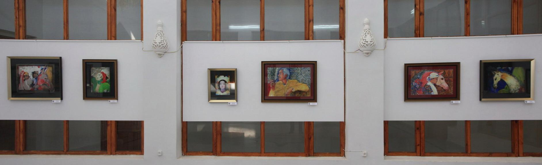 Экспозиция картин Коровиной Марии. 2017