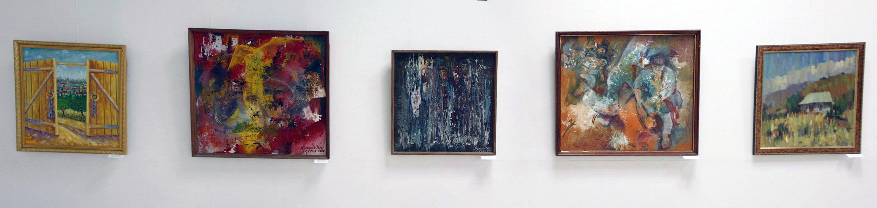 Экспозиция картин художников г. Андижан
