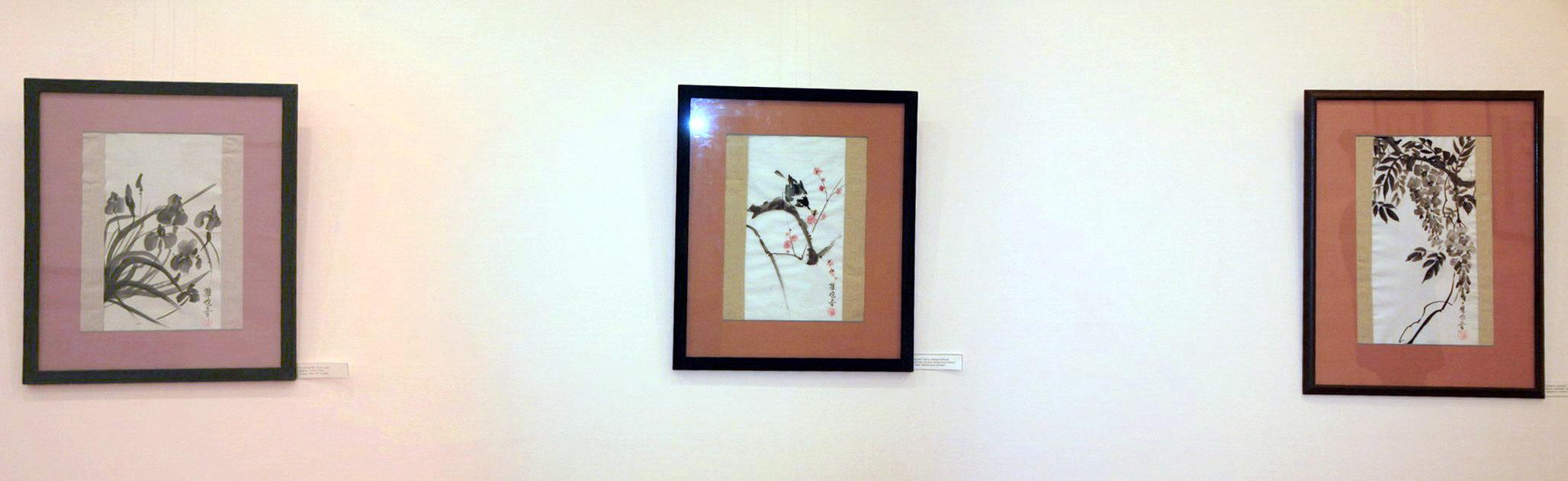 Экспозиция живописи Г. Матевосян