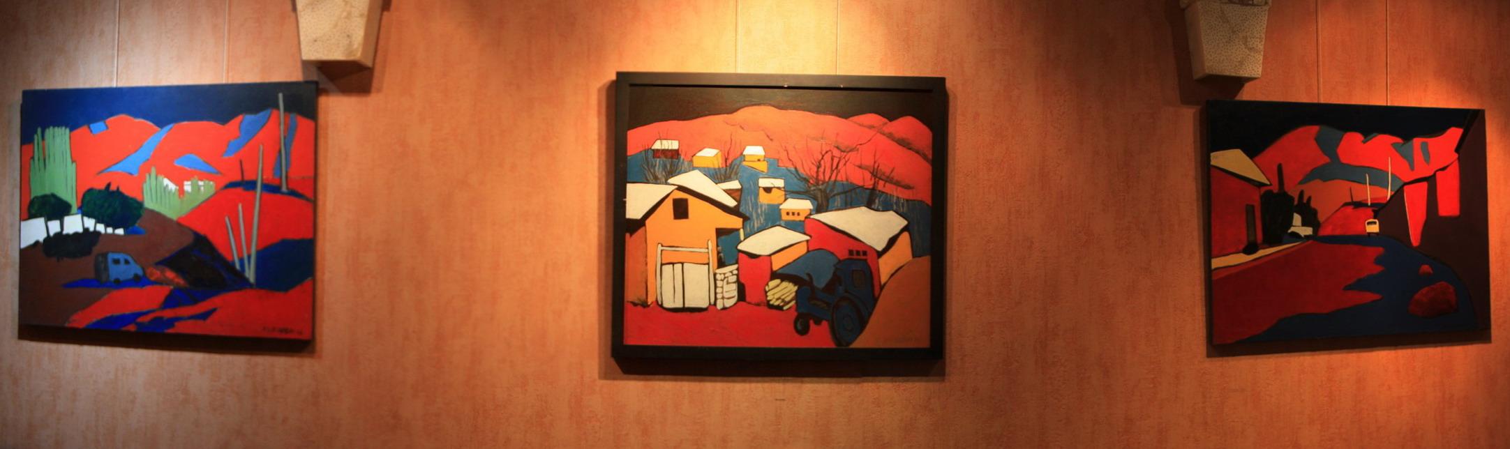 И.Валиходжаев. Экспозиция картин с сельскими сюжетами. 2