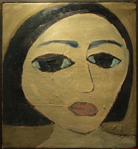 И.Валиходжаев. Портрет девушки. 2005