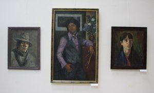 Экспозиция портретов.