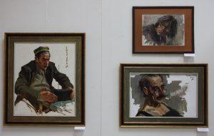 Экспозиция портретов Раджабова У.