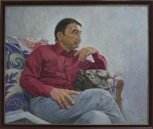 Касымов М. Портрет друга. 2015