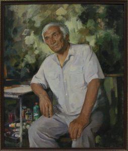 Касымов М. Портрет друга. 2016