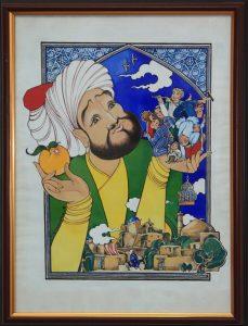 Коровина Мария. Иллюстрация к сказке Олтин олма (Золотое яблоко)