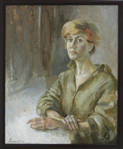 Рахметов Тимур. Портрет Лены. 2017