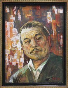 Ризамухаммедов Р. Портрет М. Юлдашева. 2013