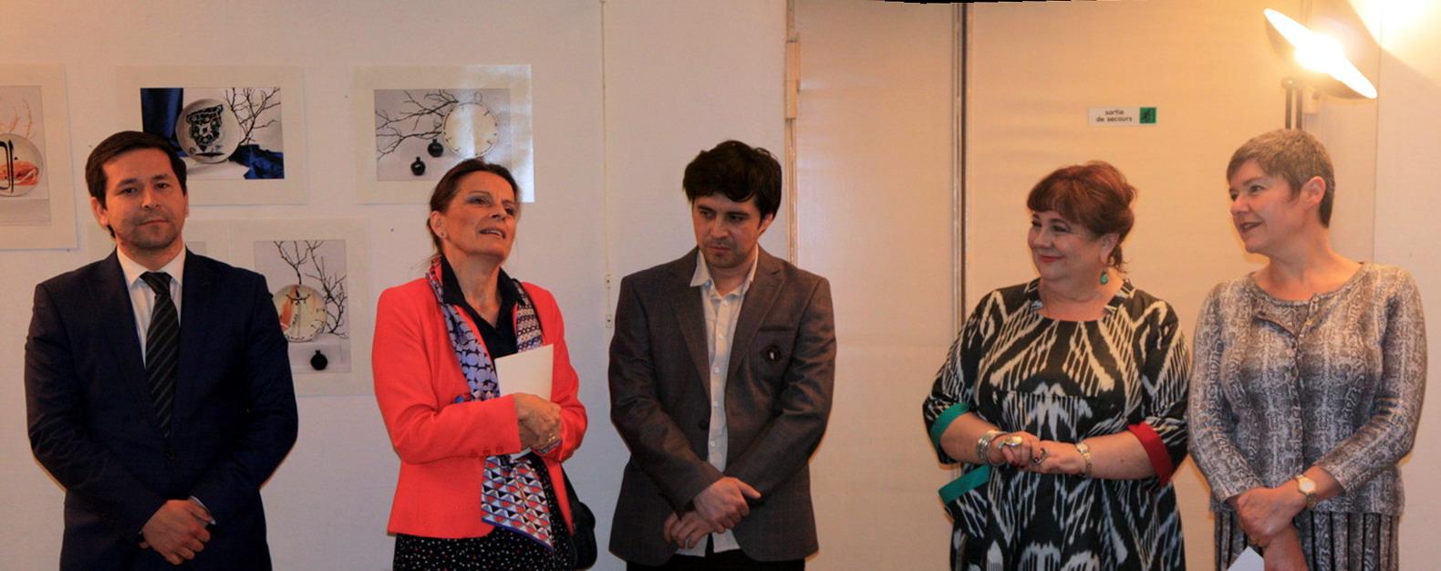 Посол Франции. Несколько слов о выставке и об Абдувахиде Бухори.