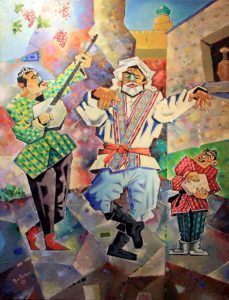 Роман Чернего. Танец трёх поколений. 2017