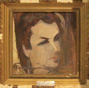 Рузы Чарыев. Портрет Софьи Мансуровой. 1991