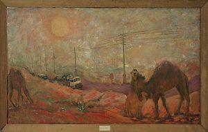 Тура Курязов. Дорога в Газли. 1984