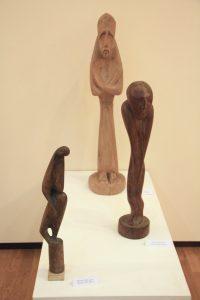 Улаш Ураков. Экспозиция скульптур из дерева 2.