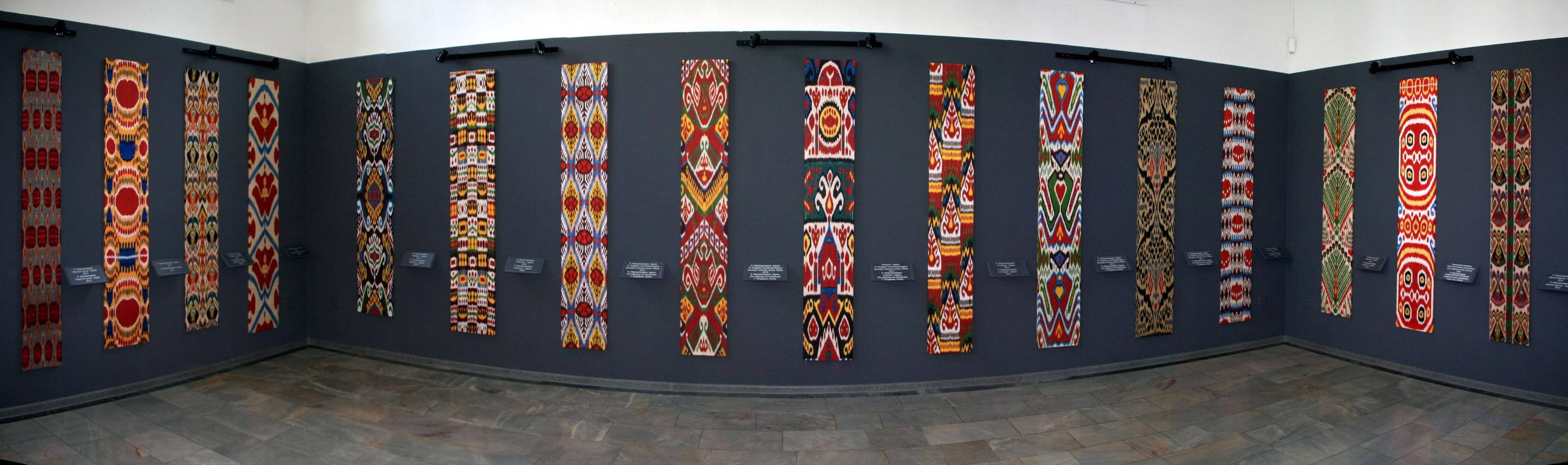 Экспозиция с выставки «Нить, соединившая поколения» 2