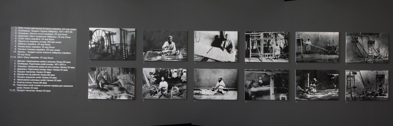 Экспозиция с выставки «Нить, соединившая поколения» 1