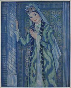 Ахмаров Чингиз. Халима Насырова в роли Ширин. 1973