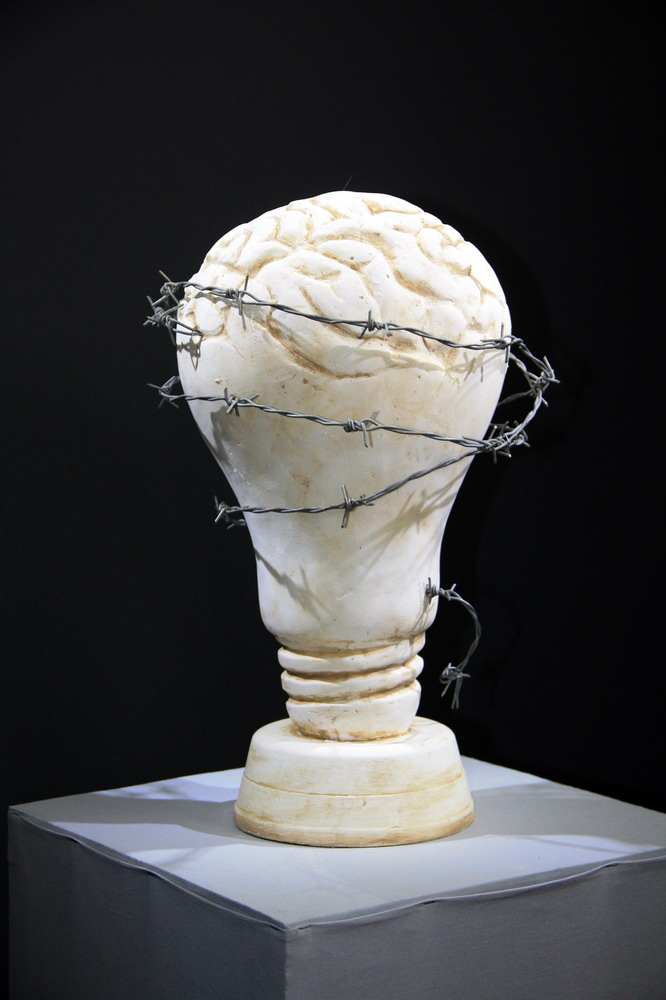 Ахметзянов Надир Скульптурная композиция «Оковы разума»