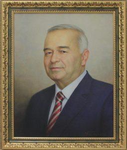 Арт-трио. Косимов Хусан. Портрет И.А. Каримова. 2017