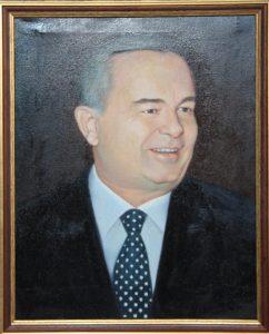 Баходир Асаев. Протрет И.А. Каримова. 2017