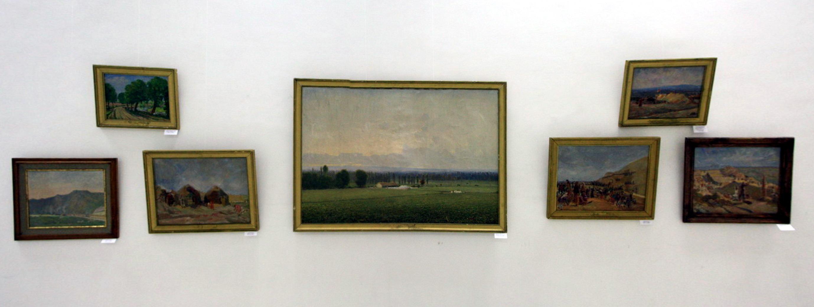 Экспозиция картин Аринина Михаила 1.