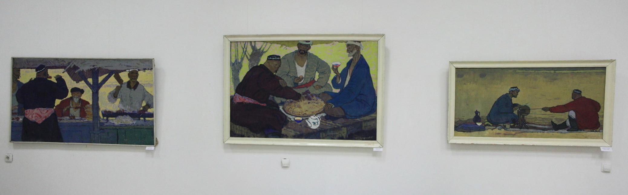Экспозиция картин Чепракова Константина