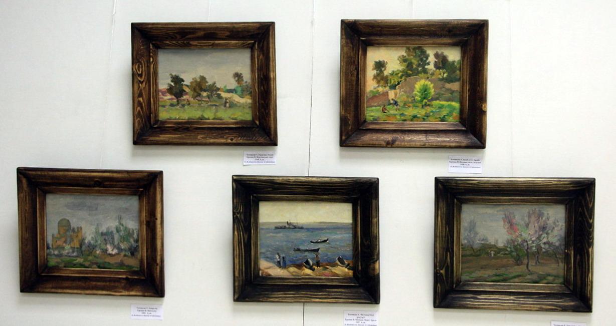 Экспозиция картин Еремян Варшама
