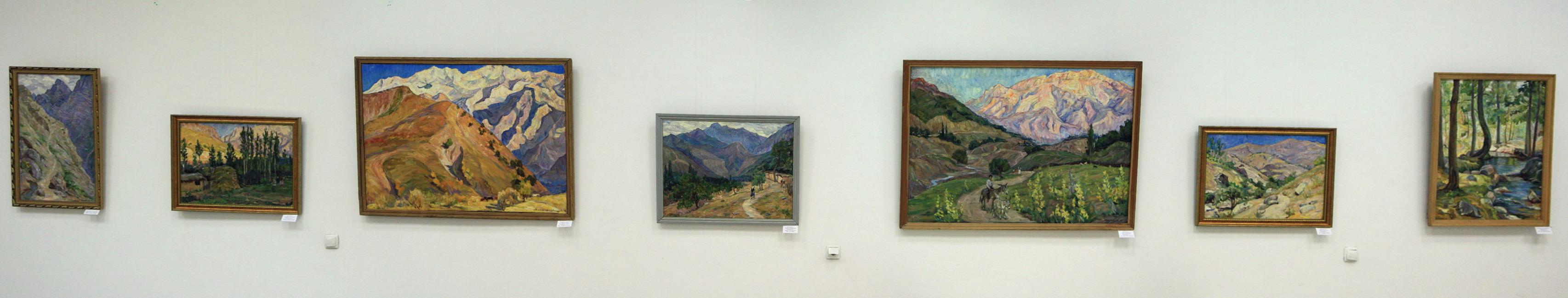 Экспозиция картин Мордвинцевой Галины 2.
