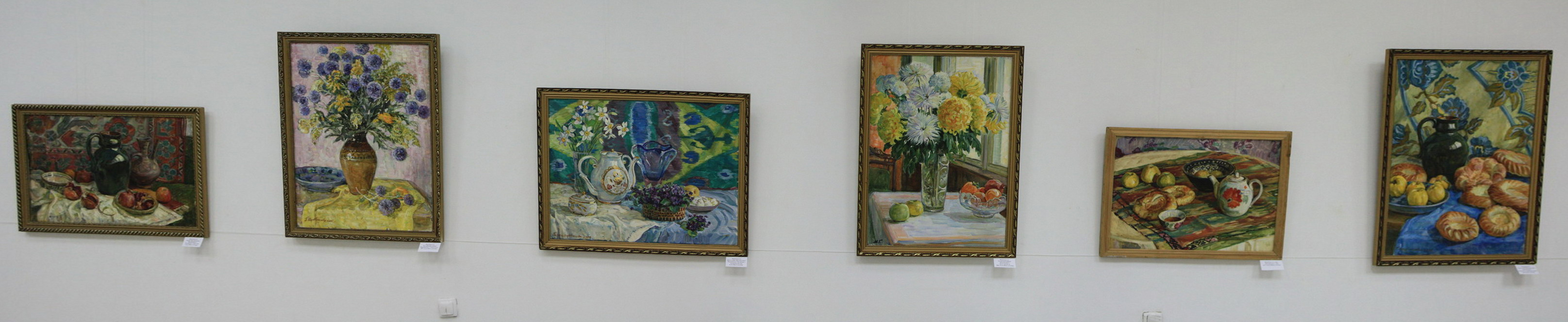 Экспозиция картин Мордвинцевой Галины.