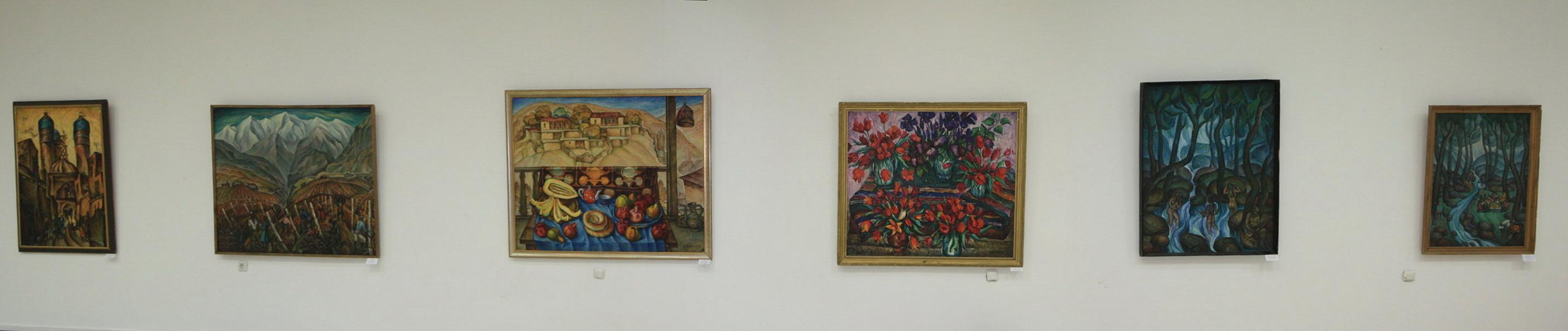 Экспозиция картин Талдыкина Юрия.