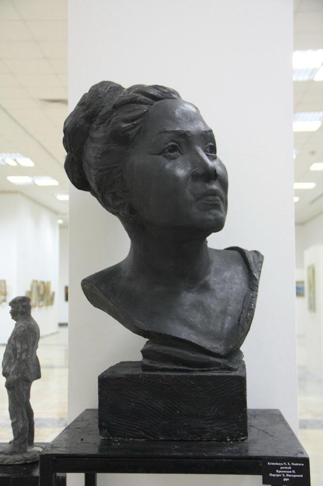 Крымская Н. Портрет Халимы Насыровой.