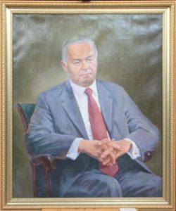 Максуд Касимов. Портрет И.А. Каримова. 2017
