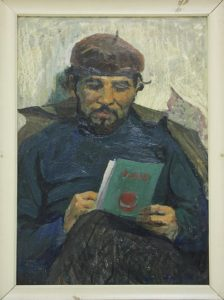 Портрет художника Бабаева