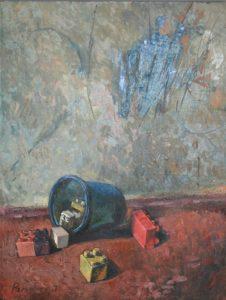 Рахметов Тимур. Открытие. диптих. 2017