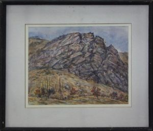Стрельников Ю. Вершина Хандиза. 1989 (ДХВ)