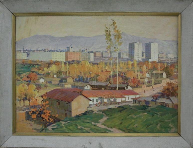 Стрибный С. Ташкент. 1969 (ДХВ)