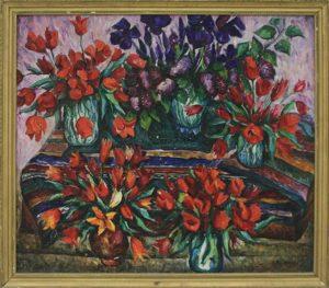 Талдыкин Ю. Тюльпаны. 1973 (ДХВ)