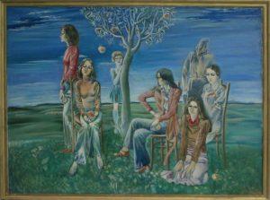 Тохтаев М. Сад Эдема. 1978 (ДХВ)