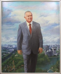Улугбек Болтабаев. Протрет И.А. Каримова. 2017