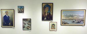 Умаров А. Экспозиция картин. (2)