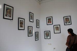 Умаров А. Экспозиция портретов.