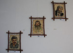 Умаров А. Портреты поэтов и художников. 2015 г.