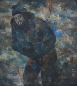 В.Ахунов Портрет художника Тохтаева М.