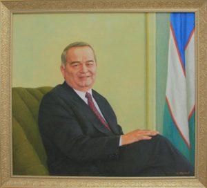 Юсупов Абдукадир. Протрет И.А. Каримова