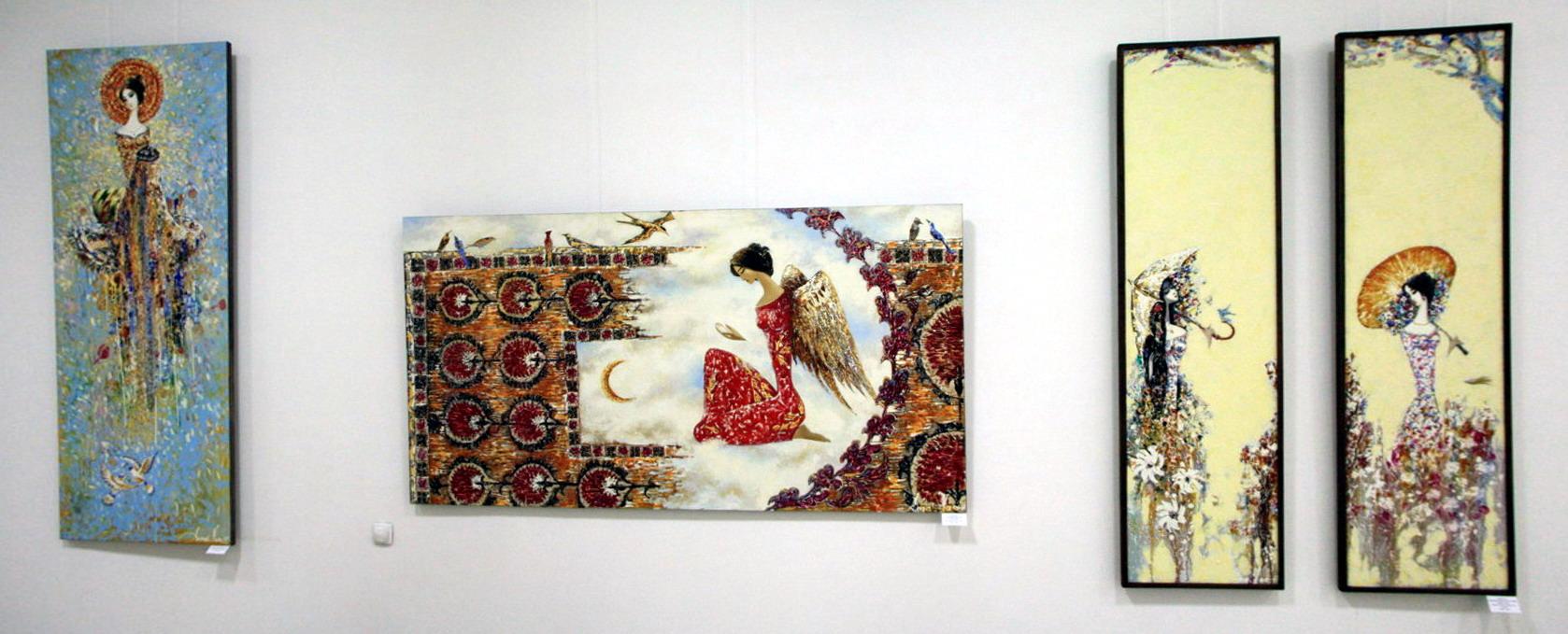 Акмаль Нуриддинов. (Нур). Экспозиция картин.