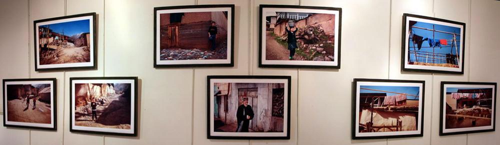 Анна Чудинова во Французском Альянсе Ташкента. Экспозиция фотографий. «Улочки Сукока»