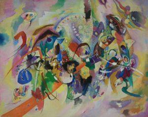 Анвар Бахтеев. Абстракция. 2007 (Из собр. Рутамова)